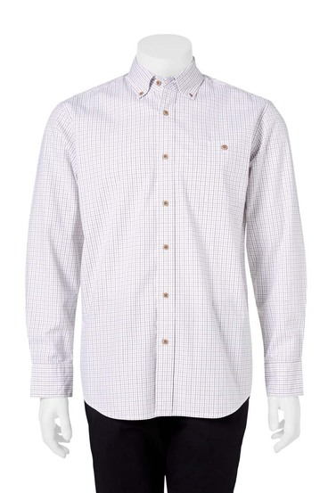 JC LANYON CASUAL OXFORD CHECK SHIRT | Tuggl