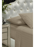 1200 Thread Count Damask Stripe Polyester/Cotton Sheet Set Queen Bed