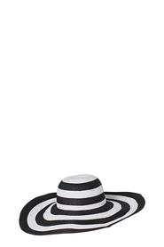 KHOKO LARGE STRIPE FLOPPY HAT