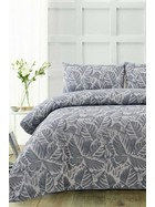ACCESSORIZE Tropical Microfibre Quilt Cover Set Queen Bed