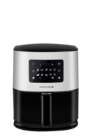 SMITH & NOBEL 6L Digital Air Fryer Stainless Steel