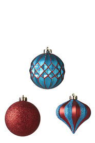 SOREN Classic Bauble Assortment 12 Pack