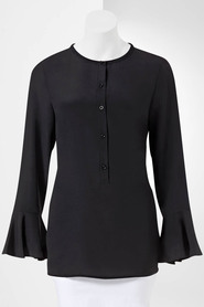SIMPLY VERA VERA WANG Fluted Cuff Blouse