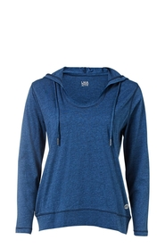 LMA ACTIVE COTTON RICH LS LIGHTWEIGHT HOODY