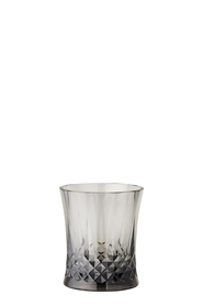 SHAYNNA BLAZE Diamond Tumbler Smoke Grey