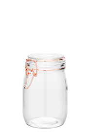 HEIRLOOM GOODS Glass Cliptop Canister 1980ml