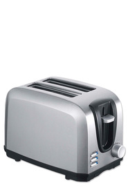 SMITH & NOBEL 2 Slice Toaster Stainless Steel