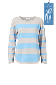 SAVANNAH Soft Touch Stripe Jumper