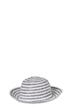 KHOKO TEXTURED STRIPE HAT SH002