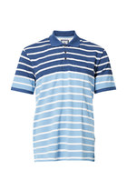 WEST CAPE CONTEMPORARY Mens Cotton Striped Pique Polo