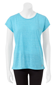 LMA ACTIVE Womens Scoop Breathe Back Tee
