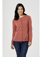 SOFT TOUCH CREW NECK KNITWEAR CARDIGAN