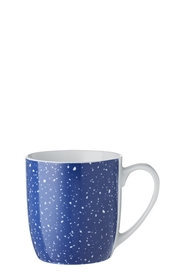 SOREN 4PC SPECKLES BLUE MUG SET