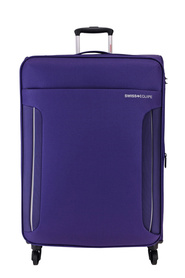 SWISS EQUIP Dubrovnik 71cm Trolley Case Purple