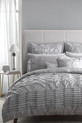 LOGAN AND MASON Francesca Silver Quilt Cover Set QB