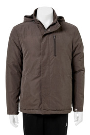 BRONSON HOODED FLEECE LINED JACKET