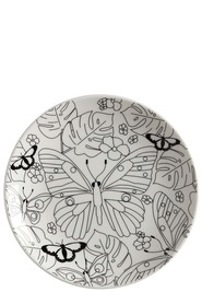 MW MINDFULNESS PLATE PAPILLON 19CM GIFT