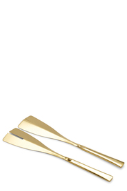 SALT & PEPPER  HOST GOLD SET OF 2 SALAD  SERVERS
