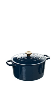 SMITH & NOBEL Traditions 5L Cast Iron Casserole Navy