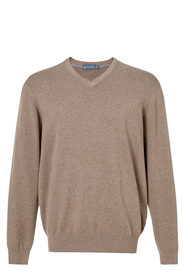 WEST CAPE CLASSIC V Neck Cotton Stretch Knit