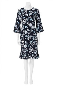 KHOKO SMART Flounce Sleeve Dress