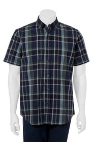 WEST CAPE CLASSIC Cotton-Linen Check Shirt
