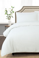 VIENNA COTTON WAFFLE QUILT COVER SET QUEEN BED