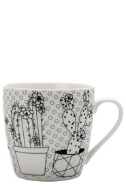 MAXWELL & WILLIAMS MINDFULNESS MUG CACTUS 470ML