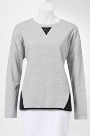 SIMPLY VERA VERA WANG Women'S Long Sleeve  Top