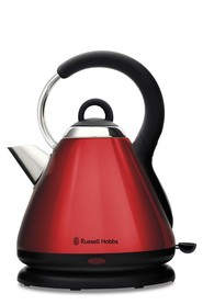 RUSSELL HOBBS Heritage Kettle Red