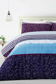 BIG SLEEP Viola Microfibre Quilt Cover Set QB