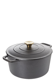 SMITH & NOBEL Traditions Cast Iron Casserole 5L