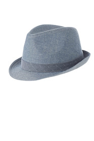 DENTS  Cotton Trilby Hat