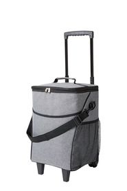 S+N LARGE TROLLEY COOLER BAG CHARCOAL