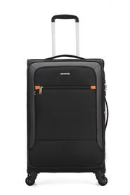 COURIER Tailwind 72cm 4WD Trolley Case Black