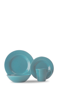 CD PORTOFINO TURQUOISE DINNER SET 16pc