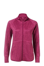 LMA ACTIVE Brushed Lightweight Zip Through Jacket