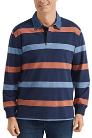 BACK BAY Heritage Long Sleeve Rugby Shirt
