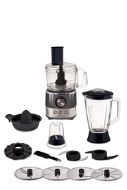 SMITH & NOBEL Food Processor Grey