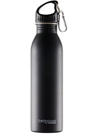 THERMOS Stainless Steel Single Wall Drink Bottle Black