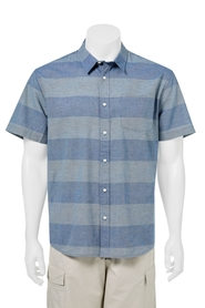 BRONSON Short Sleeve Block Stripe Shirt