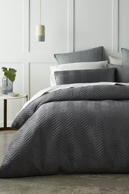 PHASE 2 Boston Quilted Quilt Cover Set King Bed