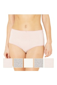 39fe4a6f0 THE COLLECTION 5pk Pretty Spot And Stripe Full Brief