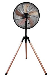 URBANE HOME Tripod Fan Rose Gold