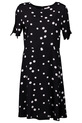 KHOKO SPOT FLIPPY HEM DRESS, SPOT-PRN, 8
