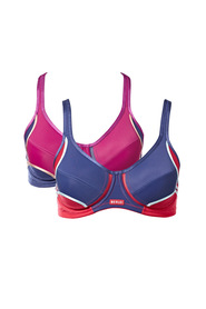 BERLEI 2PK ELECTRIFY SPORTS BRA