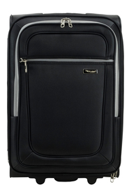 COURIER Flight 62cm Expandable 2WD Trolley CaseBlack