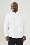 U.S. POLO ASSN. LONG SLEEVE SHIRT WITH EMBROIDERED POCKET