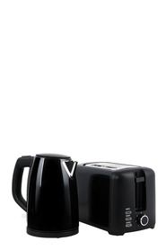 SMITH & NOBEL Toaster And Kettle Pack Black