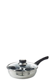 SMITH & NOBEL Traditions Stainless Steel Egg Poacher